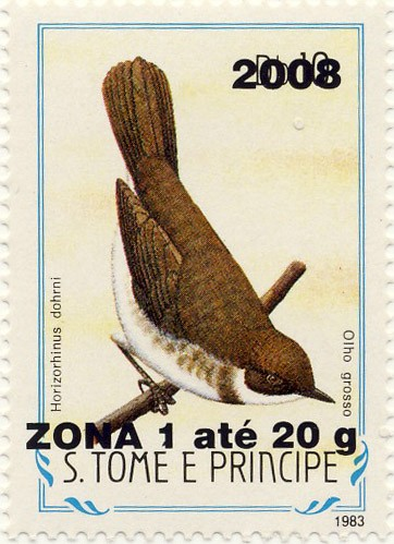 Horizorhinus dohrini - Issue of Sao Tome and Principe postage stamps
