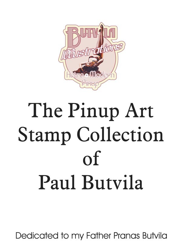 The Pinup Art of Paul Butvila Booklet - Issue of Sao Tome and Principe postage stamps