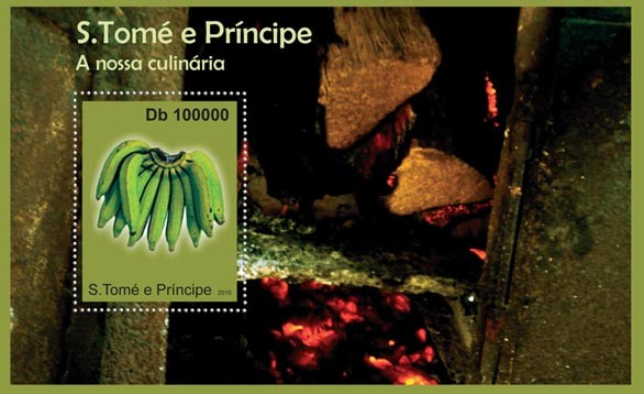 Culinary of Sao Tome & Principe, (S/S 1). - Issue of Sao Tome and Principe postage stamps