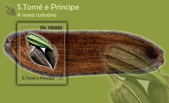 Culinary of Sao Tome & Principe, (S/S 2). - Issue of Sao Tome and Principe postage stamps