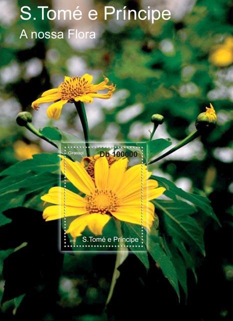 Flora of Sao Tome & Principe. - Issue of Sao Tome and Principe postage stamps