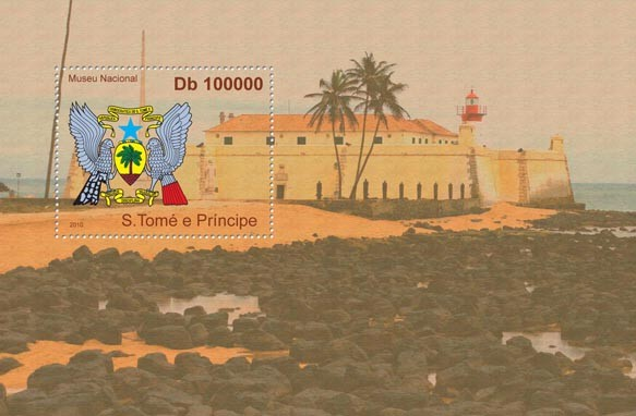 National Museum of Sao Tome & Principe, (Coat of Arm) - Issue of Sao Tome and Principe postage stamps