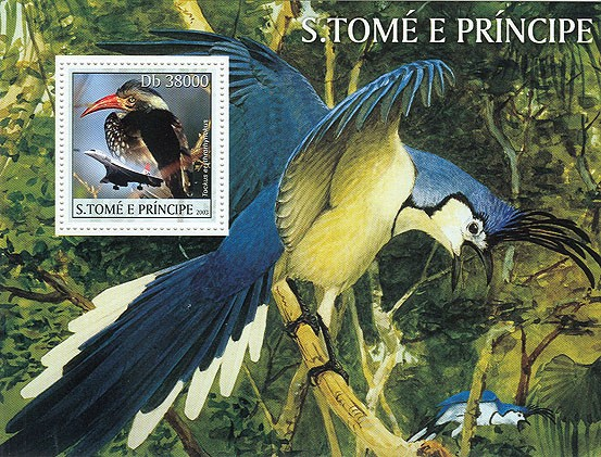 Birds & Concorde - Issue of Sao Tome and Principe postage stamps