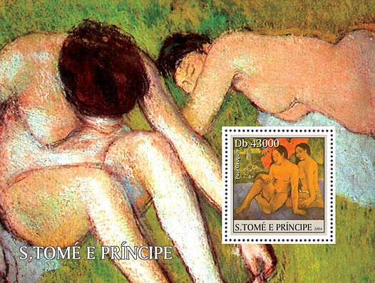 Museum of Orsay s/s - Issue of Sao Tome and Principe postage stamps