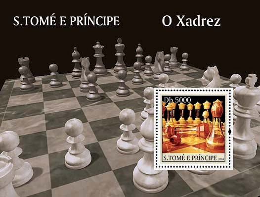 Chess / Les Echecs Db 5000 - Issue of Sao Tome and Principe postage stamps