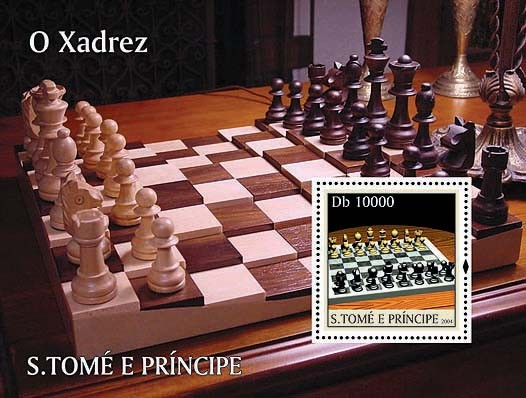 Chess / Les Echecs Db 10000 - Issue of Sao Tome and Principe postage stamps