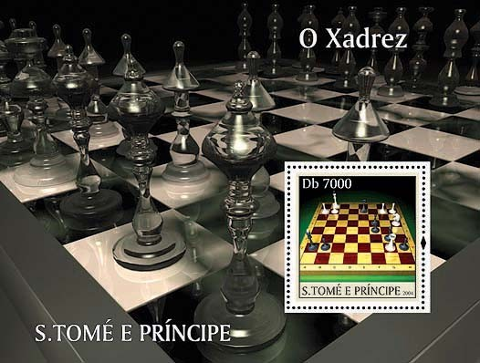 Chess / Les Echecs Db 7000 - Issue of Sao Tome and Principe postage stamps