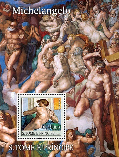 Michelangelo Db 15000 - Issue of Sao Tome and Principe postage stamps