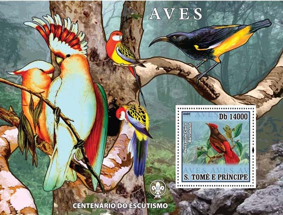 Birds II - Issue of Sao Tome and Principe postage stamps