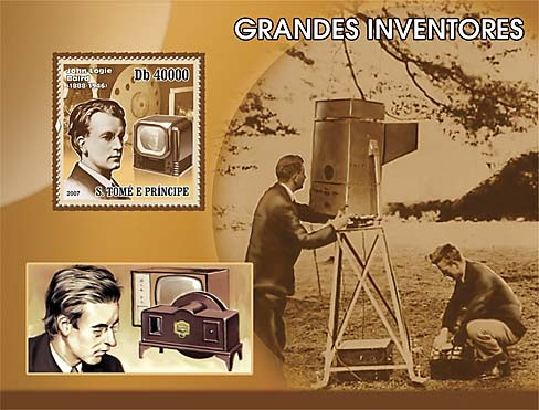 Inventors - Issue of Sao Tome and Principe postage stamps