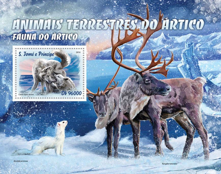 Arctic animals - Issue of Sao Tome and Principe postage stamps
