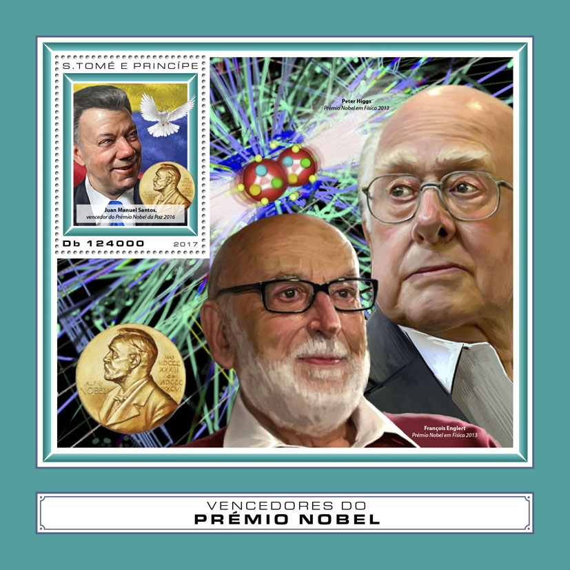 Nobel Prize winners - Issue of Sao Tome and Principe postage stamps
